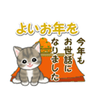 冬のもこもこ猫ちゃんズ(個別スタンプ:37)