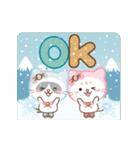 大人のためアニマルズ★動く冬&クリスマス(個別スタンプ:5)