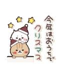 ねこまる【トラシロ】の冬(個別スタンプ:35)