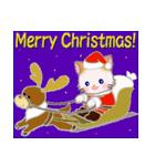 冬のもふもふしっぽの子猫ちゃん(個別スタンプ:34)