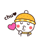 冬のシンプルさん☆(個別スタンプ:37)