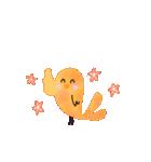 動く♢小鳥の冬スタンプ♢(個別スタンプ:1)