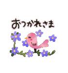 動く♢小鳥の冬スタンプ♢(個別スタンプ:3)