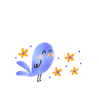 動く♢小鳥の冬スタンプ♢(個別スタンプ:23)