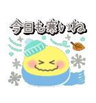 冬とお正月♡やさしいスマイル(個別スタンプ:9)