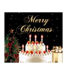 【動く・誕生日・クリスマス・お正月】(個別スタンプ:10)