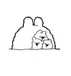 すこぶる動くウサギ【冬2】(個別スタンプ:2)