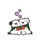 すこぶる動くウサギ【冬2】(個別スタンプ:5)