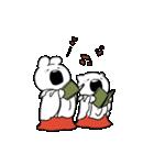 すこぶる動くウサギ【冬2】(個別スタンプ:9)