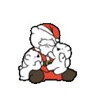 すこぶる動くウサギ【冬2】(個別スタンプ:10)