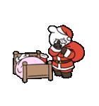 すこぶる動くウサギ【冬2】(個別スタンプ:11)