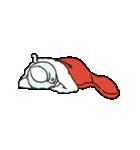 すこぶる動くウサギ【冬2】(個別スタンプ:19)