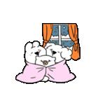 すこぶる動くウサギ【冬2】(個別スタンプ:21)