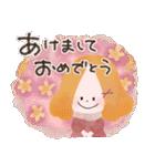 年末年始☆おしゃかわガール(個別スタンプ:2)