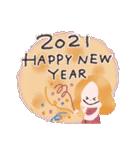 年末年始☆おしゃかわガール(個別スタンプ:6)