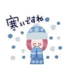 年末年始☆おしゃかわガール(個別スタンプ:11)