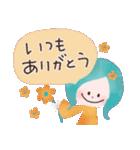 年末年始☆おしゃかわガール(個別スタンプ:17)