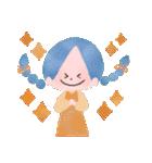 年末年始☆おしゃかわガール(個別スタンプ:24)
