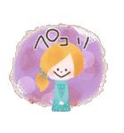 年末年始☆おしゃかわガール(個別スタンプ:28)