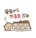 ねこまる【トラシロ】の年末年始&日常(個別スタンプ:18)