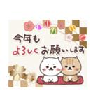 ねこまる【トラシロ】の年末年始&日常(個別スタンプ:29)