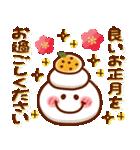 【新春】HAPPYスマイル日常も使える年賀状(個別スタンプ:12)