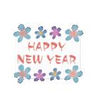 動く♡大人の女性の年末年始の挨拶♡(個別スタンプ:10)