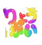 coosanの大きな文字のスタンプ2。(個別スタンプ:7)
