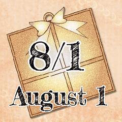[LINEスタンプ] 8月1日記念日BIGスタンプ
