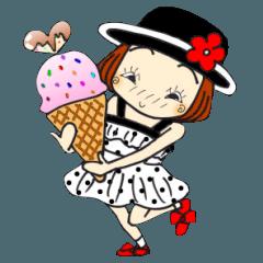 ひま子ちゃん242夏のアイスな女の子