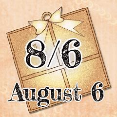 [LINEスタンプ] 8月6日記念日BIGスタンプ