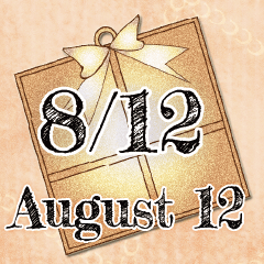 [LINEスタンプ] 8月12日記念日BIGスタンプ