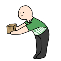 moving Ojigi stamp