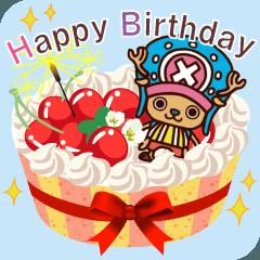 ONE PIECE 誕生日ケーキ
