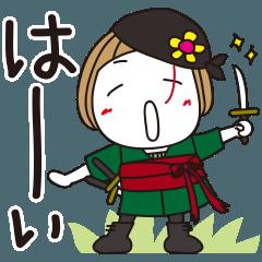 [LINEスタンプ] はな子海賊団✿ONE PIECE