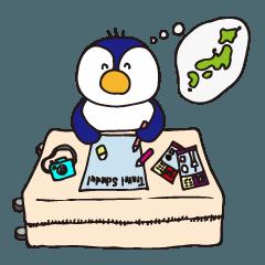 韓国語-旅するペンギンの可愛い日常