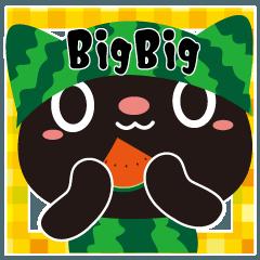 くろねこちゃんのデカ文字BIGスタンプ-2