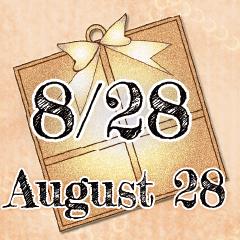 [LINEスタンプ] 8月28日記念日BIGスタンプ