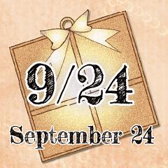 [LINEスタンプ] 9月24日記念日BIGスタンプ