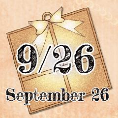 [LINEスタンプ] 9月26日記念日BIGスタンプ