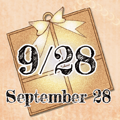 [LINEスタンプ] 9月28日記念日BIGスタンプ
