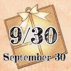 [LINEスタンプ] 9月30日記念日BIGスタンプ