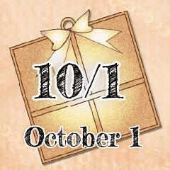 [LINEスタンプ] 10月1日記念日BIGスタンプ