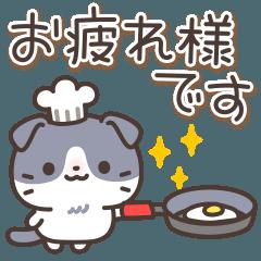 [LINEスタンプ] はちわれスコちゃん (1)