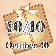 [LINEスタンプ] 10月10日記念日BIGスタンプ