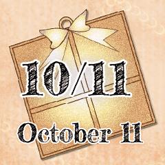 [LINEスタンプ] 10月11日記念日BIGスタンプ