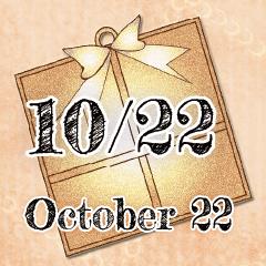 [LINEスタンプ] 10月22日記念日BIGスタンプ