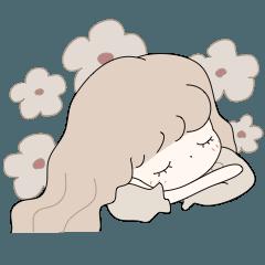 [LINEスタンプ] レトロな紅茶ちゃん【日常編】