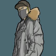 [LINEスタンプ] フライトジャケットーズ 5