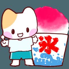 夏祭り☆こねこ